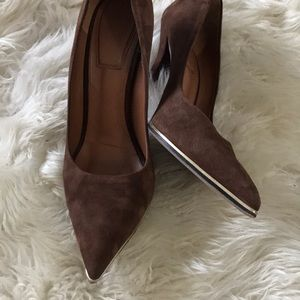 Givenchy suede shoes size 7